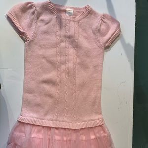 Gymboree Glamour Ballerina Pink Tutu Dress Tulle
